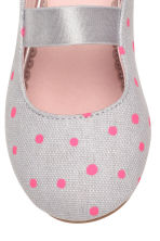 Ballet pumps - Light grey/Spotted - Kids | H&M CN 4